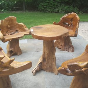 5 pcs. Patio Teak Set